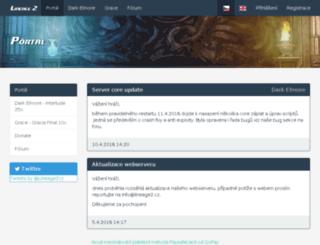 l2l.gamenode.cz screenshot