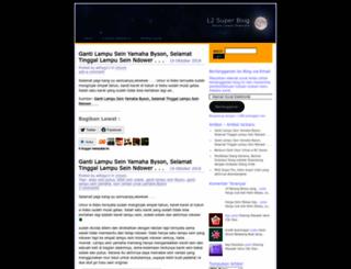 l2super.wordpress.com screenshot