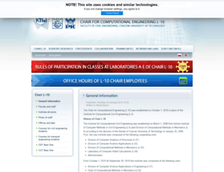 l5.pk.edu.pl screenshot