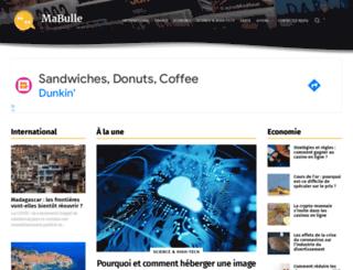 la-canadienne.mabulle.com screenshot