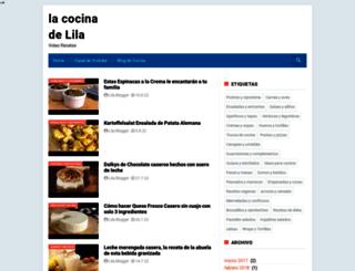 la-cocina-de-lila.blogspot.com screenshot