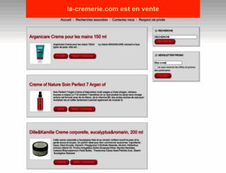 la-cremerie.com screenshot
