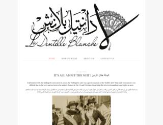 la-dentelle-blanche.blogspot.com screenshot