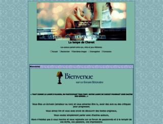 la-lampe-de-chevet.aforumfree.com screenshot