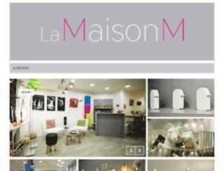 la-maison-m.fr screenshot