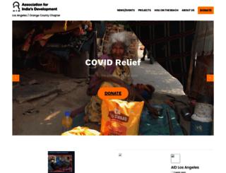 la-oc.aidindia.org screenshot