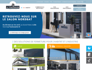 la-toulousaine.com screenshot