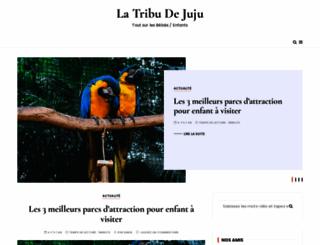la-tribu-de-juju.net screenshot