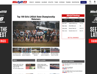 la.milesplit.com screenshot