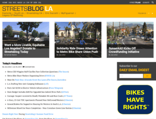 la.streetsblog.org screenshot