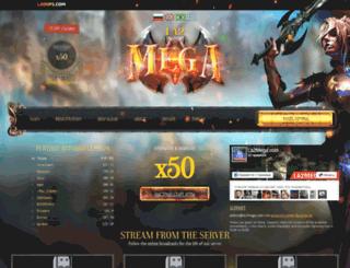 la2mega.com screenshot