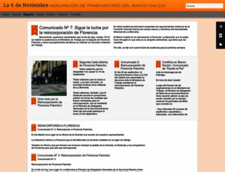 la6denoviembre.blogspot.com.ar screenshot