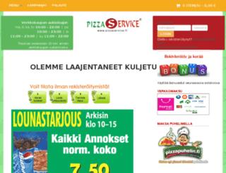 laajasalo.pizzaservice.fi screenshot