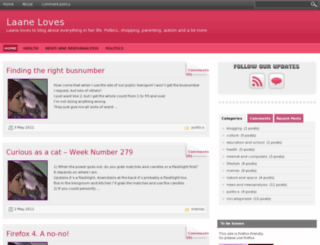 laaneloves.com screenshot