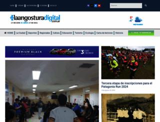 laangosturadigital.com.ar screenshot