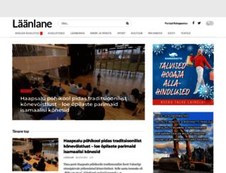 laanlane.ee screenshot