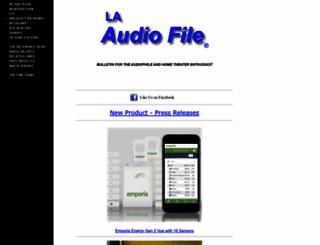 laaudiofile.com screenshot