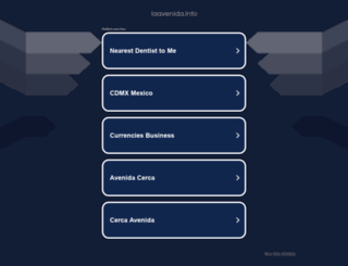 laavenida.info screenshot