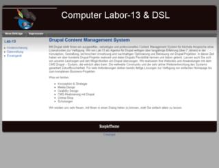 lab-13.de screenshot