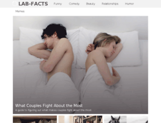 lab-facts.com screenshot