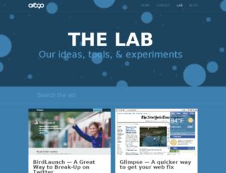 lab.arc90.com screenshot