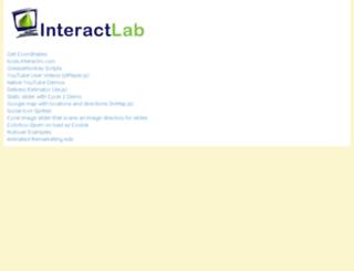 lab.interactrv.com screenshot