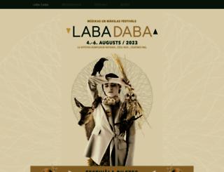 labadaba.lv screenshot