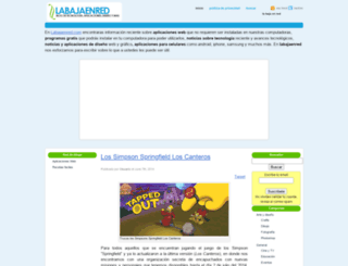 labajaenred.com screenshot