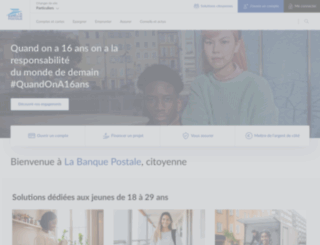 labanquepostale.fr screenshot