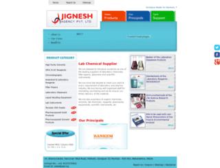labchemicals.in screenshot