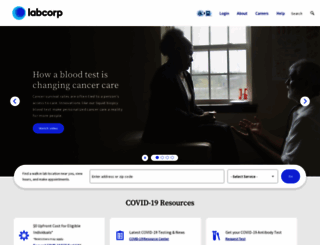 labcorp.com screenshot
