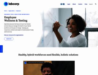 labcorpsolutions.com screenshot