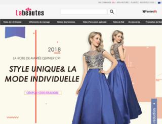 labeautes.fr screenshot