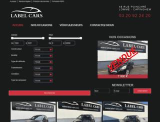 label-cars.com screenshot