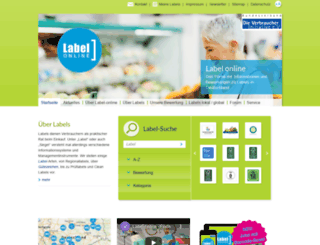 label-online.de screenshot