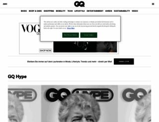 labelfinder.gq-magazin.de screenshot