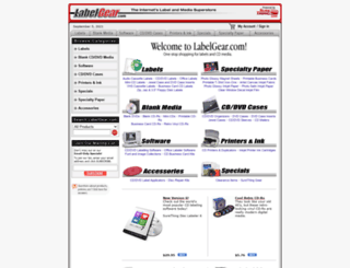 labelgear.com screenshot