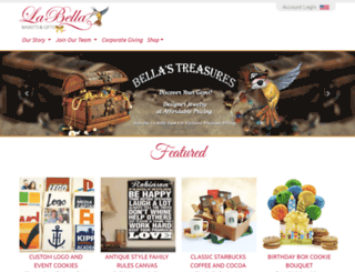 labellabaskets.com screenshot