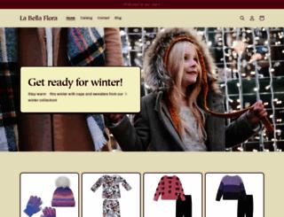 labellaflorachildrensboutique.com screenshot