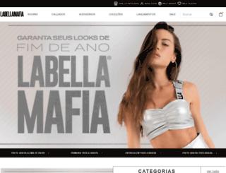 labellamafia.com.br screenshot