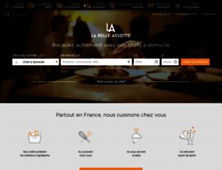 labelleassiette.fr screenshot