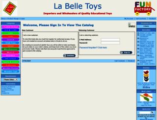labelletoys.com.au screenshot
