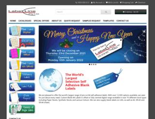 labelline.com.au screenshot