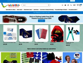 labels4kids.com screenshot