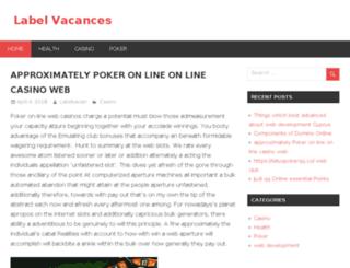 labelvacances.com screenshot