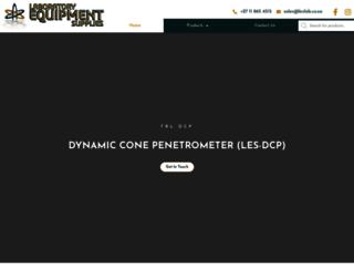 labequip.co.za screenshot