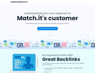 labibbiadelbiliardo.it screenshot
