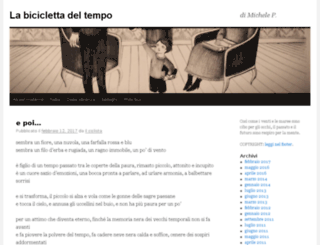 labiciclettadeltempo.it screenshot