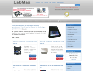 labmax.ca screenshot