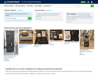 labmerchant.com screenshot